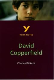 "Cover of: York Notes on Charles Dickens' ""David Copperfield"" by R.W. Stevenson"