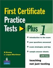 Cover of: Practice Tests Plus Fce (FCE) by Stanton
