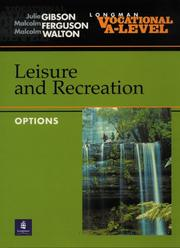 Cover of: Vocational A-Level Leisure and Recreation Options | Julie Gibson