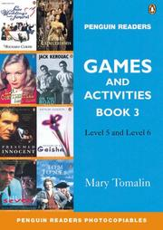 Cover of: Games and Activities by M. Tomalin