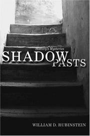 Cover of: Shadow Pasts by William D Rubinstein