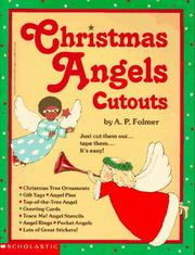 Cover of: Christmas Angels Cutouts by A. P. Folmer