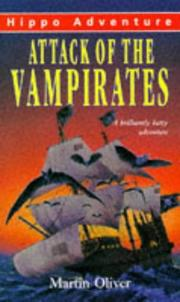 Cover of: Attack of the Vampirates | Martin Oliver