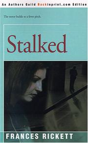 Cover of: Stalked by Frances Rickett