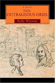 Cover of: The Outrageous Oriel by Sally Watson