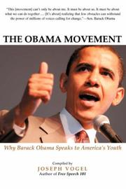 Cover of: The Obama Movement | Joseph Vogel