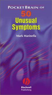Cover of: PocketBrain of 50 Unusual Symptoms | Mark A. Marinella