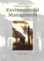 Cover of: Blackwell's Concise Encyclopedia of Environmental Management by Peter P. Calow