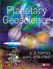 Cover of: Planetary Geoscience by A. D. Fortes