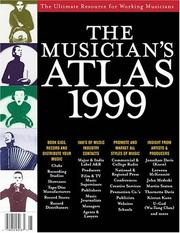 Cover of: The Musician's Atlas 1999 (Musician's Atlas: The Ultimate Resource for Working Musicians) | Music Resource Group