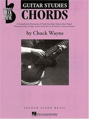 Cover of: Guitar Studies - Chords | Chuck Wayne