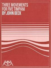 Cover of: Three Movements by John Ness Beck