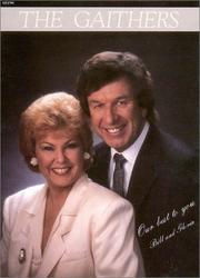 Cover of: Bill And Gloria Gaither Our Best to You (Artist Songbooks Series) | Bill Gaither
