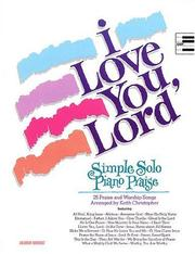 Cover of: I Love You Lord | Keith Christopher