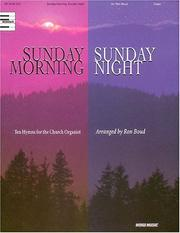 Cover of: Sunday Morning, Sunday Night by Ron Boud