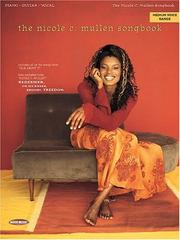 Cover of: The Nicole C. Mullen Songbook by Nicole C. Mullen