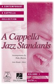 Cover of: A Cappella Jazz Standards (Collection) | Mel Leven