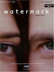 Cover of: Watermark - Constant by Watermark