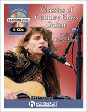 Cover of: Classics of Country Blues Guitar | Rory Block