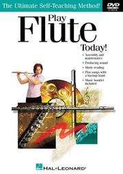 Cover of: Play Flute Today! DVD | Kaye Clements