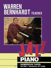 Cover of: Jazz Piano | Warren Bernhardt