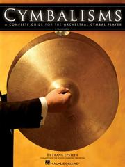 Cover of: CYMBALISMS | Frank Epstein
