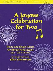 Cover of: A Joyous Celebration for Two - Volume 2: God and Country | Ellen Foncannon