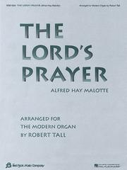 Cover of: The Lord's Prayer | Robert Tall