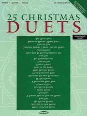 Cover of: 25 Christmas Duets | Bruce Inman