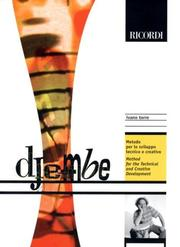 Cover of: Djembe | Ivano Torre