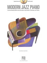 Cover of: Modern Jazz Piano | Sarah Jane Cion