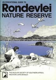 Cover of: An Educational Guide to Rondevlei Nature Reserve | Berruti