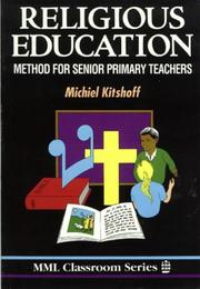 Cover of: Religious Education | Kitshoff