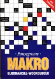 Cover of: Makro Blokraaisels Woordeboek by L.L. Pansegrouw