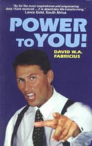 Cover of: Power to You! | D.W.A. Fabricius
