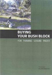 Cover of: Buying Your Bush Block | A. Windust