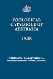 Cover of: Zoological Catalogue of Australia | J.K. Lowry