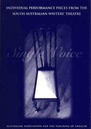 Cover of: Single Voice by Jeanne Mazure