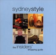 Cover of: Sydneystyle by MustHaveGuides The