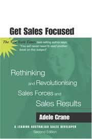 Cover of: Get Sales Focused by Adele Crane