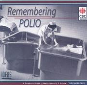 Cover of: Remembering Polio | Maria Mindl
