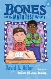 Cover of: Bones and the Math Test Mystery (Bones) | David A. Adler