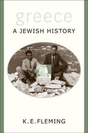 Cover of: Greece--a Jewish History | K. E. Fleming