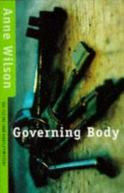 Cover of: Governing body | Anne Wilson