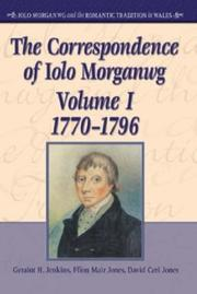 Cover of: The Literary and Historical Legacy of Iolo Morganwg, 1826-1926 (University of Wales Press - Iolo Morganwg and the Romantic Tradition) | Marion Loffler