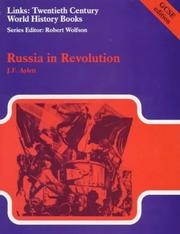 Cover of: Russia in Revolution (Links) | J.F. Aylett