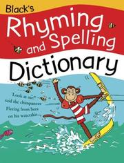 Cover of: Black's Rhyming and Spelling Dictionary | Pie Corbett