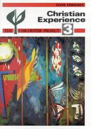 Cover of: Christian Experience P (Chichester Project) | Clive Erricker