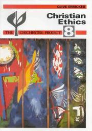 Cover of: Christian Ethics P (Chichester Project) by Clive Erricker