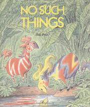 Cover of: No such things by Bill Peet